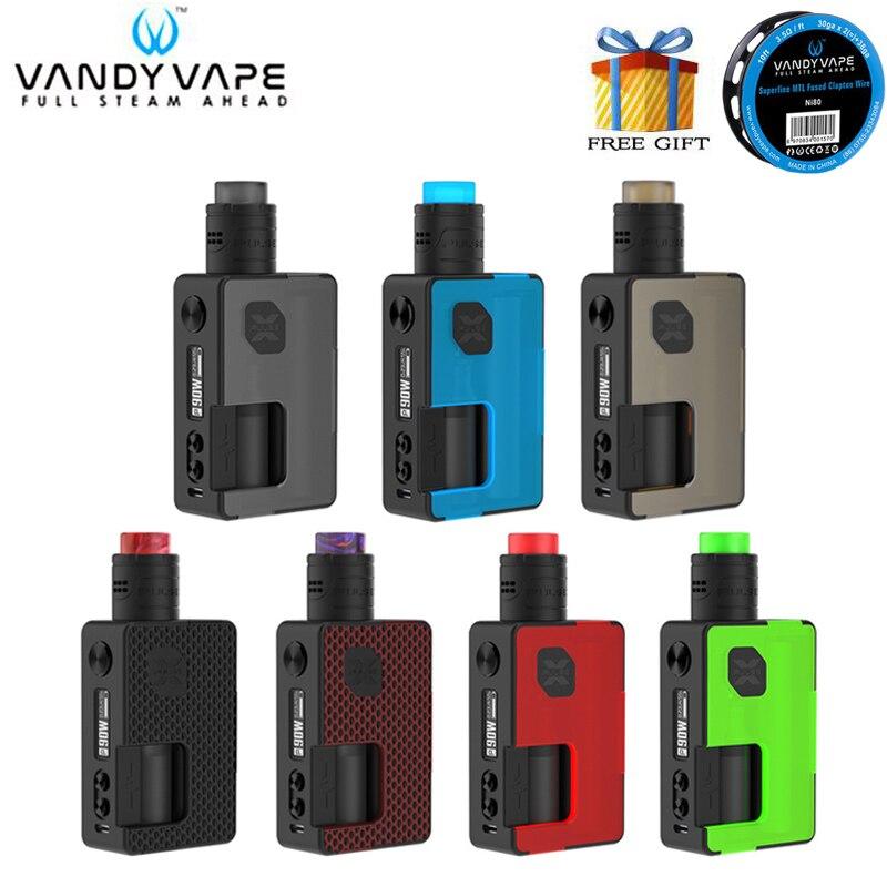 Original Vandy Vape Pulse X BF Kit Pulse BF Box Mod 90W With