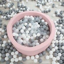 Новая усовершенствованная 6 см Пластик бассейн с шариками-100 шт. безопасные Экологичные дети младенческой игровой бассейн мяч игрушка, идеальный Размеры для маленьких рук