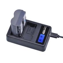 PowerTrust 1 Pcs 2650 mAh BP-511 BP 511 BP511 BP511A Bateria + LCD Dual USB Carregador de bateria para Canon EOS 20D 30D 40D 300D 5D 50D