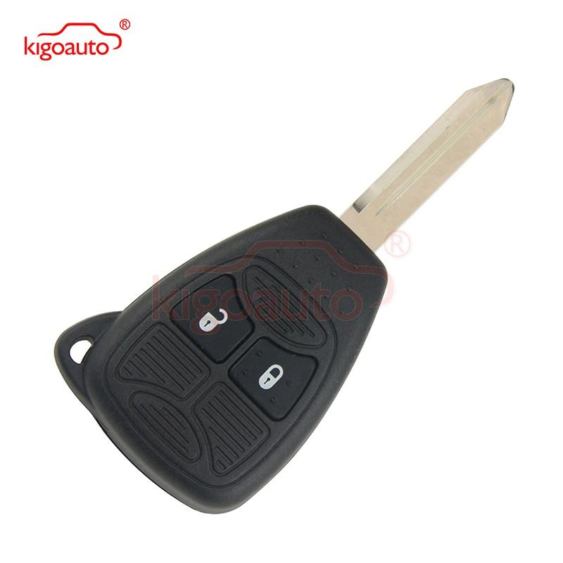 Kigoauto remote kepala kunci 2 tombol 434 MHz 04589318AC fob kunci - Suku cadang mobil - Foto 2