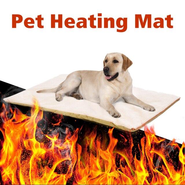 Собака грелка-подушка Pet потепления подушки кровать для средних и больших товары собак кошек отражает домашних животных собственный термо