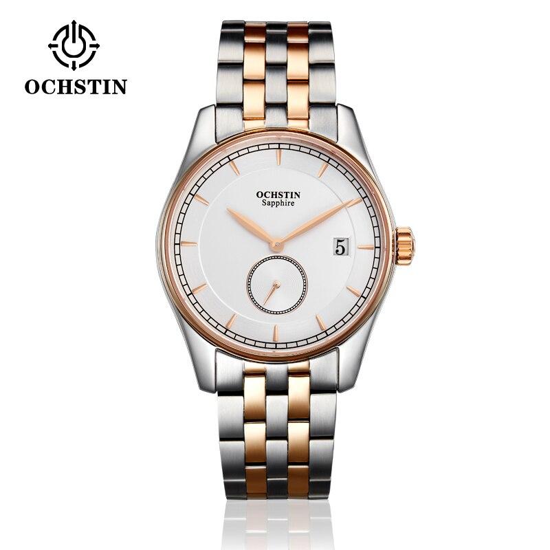 OCHSTIN montres de sport pour hommes montre-bracelet de mode étanche horloge à Quartz mâle nouvelle Date automatique en acier inoxydable Relogio Masculino