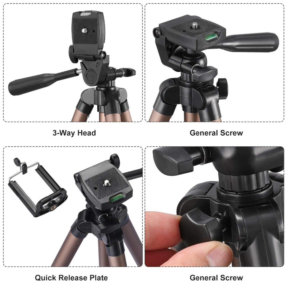 tripod for phone with remote control holder stand tripod for phone bluetooth and camera smartphone tripods cam dslr mount        (7)