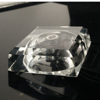 Small Multicolor Crystal LED Light Base For 3d Laser Crystal Cube Crystal Block Display