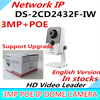 Wholesale English Version IP Camera POE DS 2CD2432F IW V5 3 0 Support POE Network WIFI