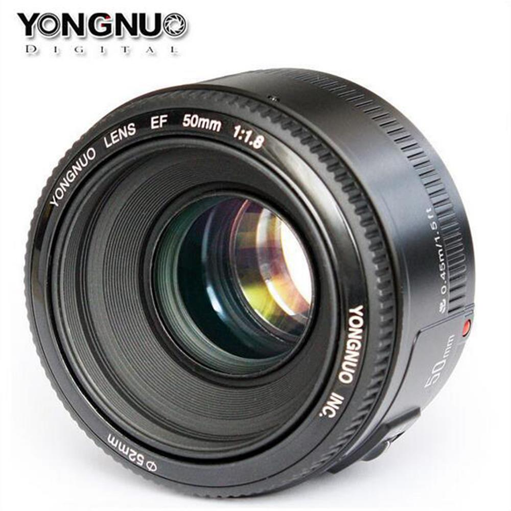 YONGNUO YN35mm F2 Lens 1:2 AF/MF Wide-Angle Fixed/Prime Auto Focus Lens Suit For Canon EF Mount EO.S with 52mm Filter Diameter