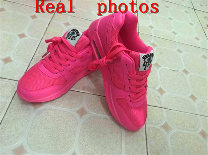 18 Fashion Sneakers Women Shoes Spring Tenis Feminino Casual Shoes Outdoor Walking Shoes Women Flats Pink Flas Ladies Shoes 8