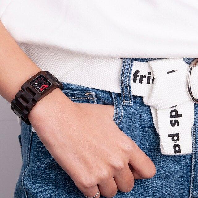 BOBO BIRD 25mm Small Women Watches Wooden Quartz Wrist Watch Timepieces Best Girlfriend Gifts Relogio Feminino in wood Box 2