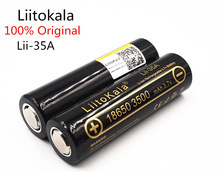 "LiitoKala מקורי Lii 35A 3.7 v 3500 mah 10A פריקה נטענת סוללות עבור 18650 סוללה/מל""ט"