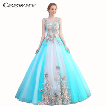 CEEWHY Ball Gown Evening Dresses Prom Dresses Evening Gown