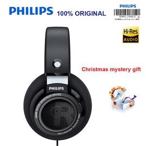 Image 1 - Cuffie professionali originali Philips SHP9500 con auricolare lungo 3 metri per Xiaomi Huawei Samsung MP3 supporto Test ufficiale