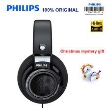 Philips auriculares profesionales SHP9500 originales, con 3 metros de largo, para Xiaomi, Huawei, Samsung, MP3, prueba oficial