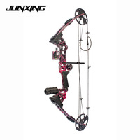 20 70 Lbs Compound Bow 17 29 Inch by Aluminum Alloy in 3 Color for Outdoor Archery Hunting Shooting