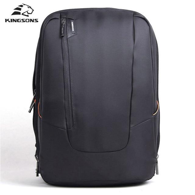 Kingsons 15 Inch Laptop Bag Waterproof Computer Backpack for Men ...