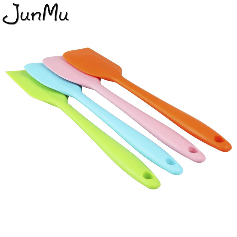Pan Cleaning Scrapers Silicones Kitchen Spatula Cake Baking Tool Pastry Spatulas