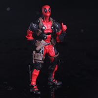 Deadpool No.001 action model figure toys Movable deadpool toy 15cm collection PVC gift figrues F7295