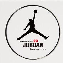 Car Sticker NBA finals May 1991 Flying 23 Jordan jump man  Creative Decals For Car Fuel Tank Cap Waterproof Auto car Styling все цены