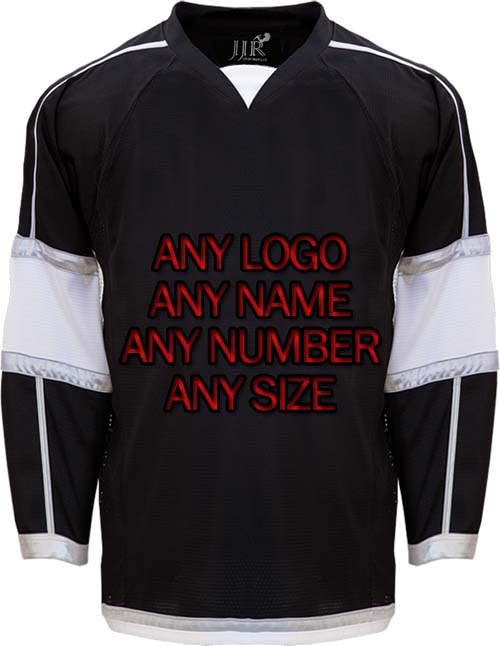 Custom ICE Hockey Jerseys Replica Home Away Mens Vintage Jersey Black White XXS-6XL new arrived 2016 team uniform factory oem hockey jerseys embroidery mens tackle twill usa canada czech republic australia