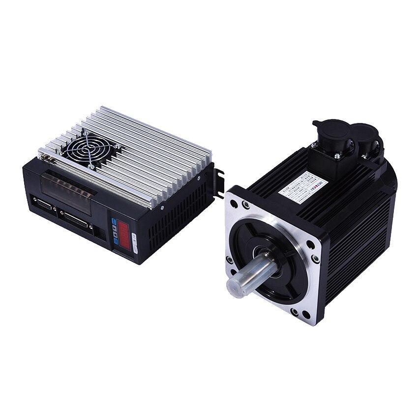 (130ST-M07725) Servo Moteur 2KW 7.7NM 2500 rpm 130ST monophasé AC Servo Moteur + Assortie Servomoteur avec La Certification ce
