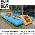 cheap price high quality inflatable human foosball table soccer field for outdoor sport