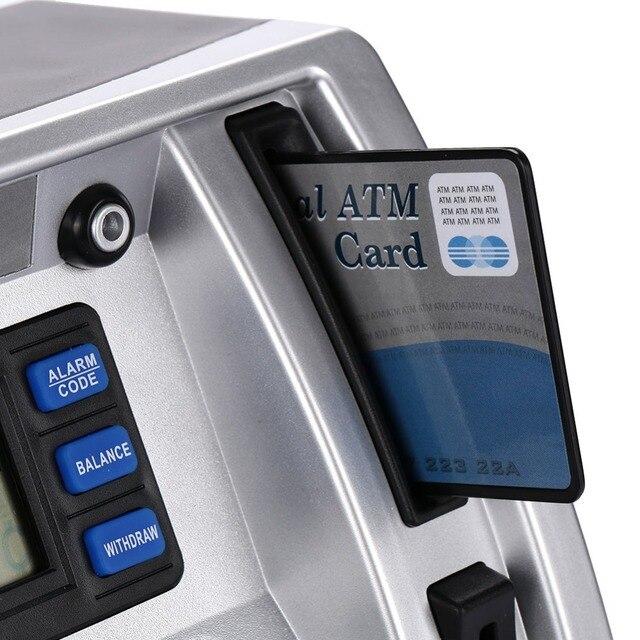 Simulación Banco de Ahorro ATM pantalla LCD para niños 4
