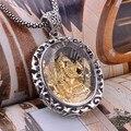 Handmade 925 Silver Crystal Ganesha Buddha Pendant Fortune Buddha Pendant Elephant Buddha Pendant Jewelry