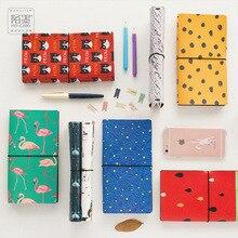 8 стилів японського творчого Kawaii Cute мультфільм DIY шкіряний ноутбук пов'язаний путівник журналу Щоденник Планувальник Порядок денний Подарунки Caderno