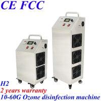 Pinuslongaeva H2 Movable 304 stainless steel 10 15 20 40 60G/H adjustable ozone air water generator machine medical ozonator