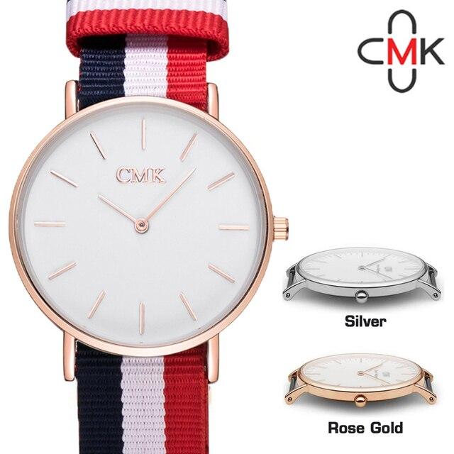 e6596ec1fd0 CMK Cambridge Clássicos Dos Homens Relógio de Pulso Relógio de Designer  Homens Moda Pulseira Relógio De