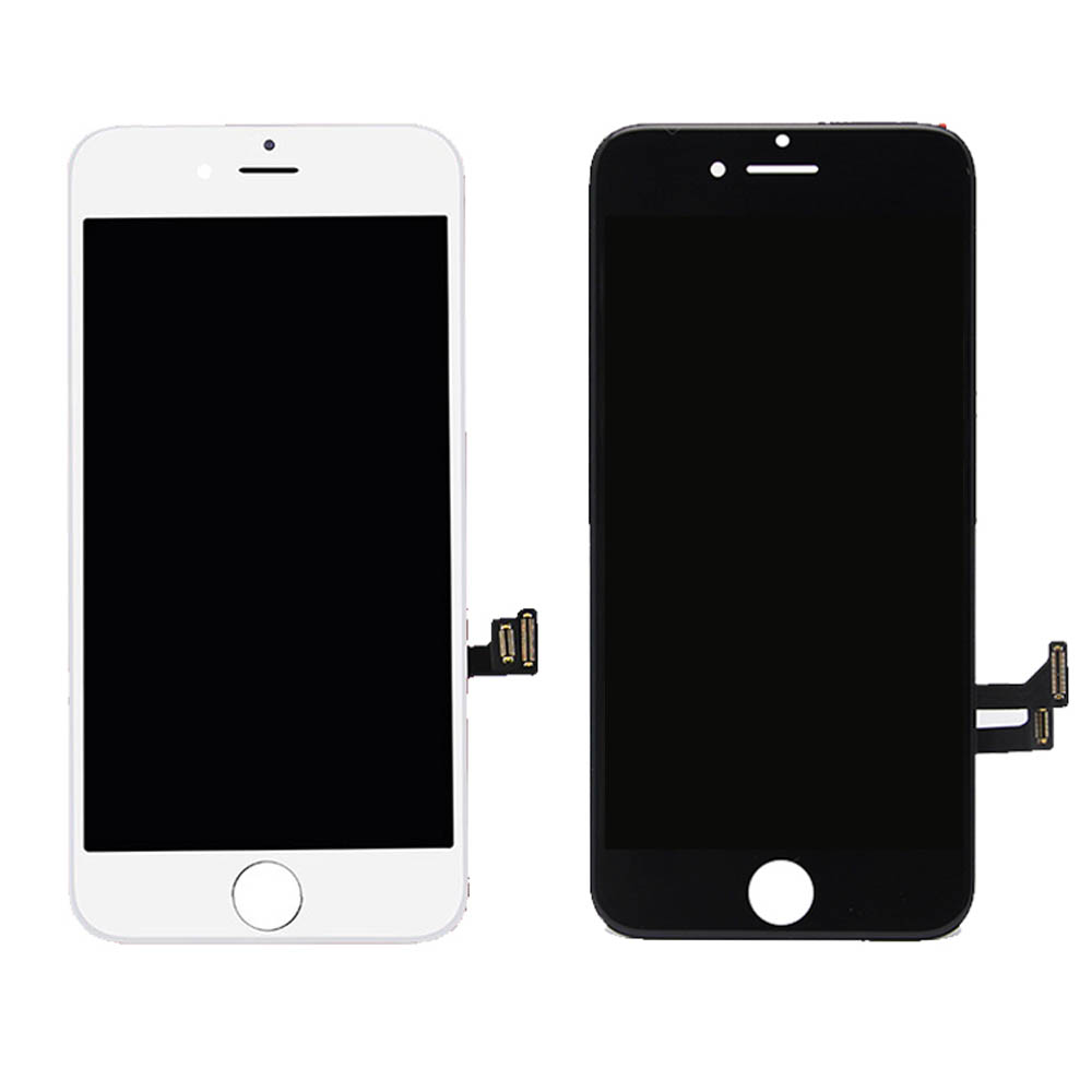 For iPhone 7 LCD Display and Touch Screen Digitizer Assembly Black White color 4.7 inch A1660 <font><b>A1778</b></font> lcd screen AAA quality image