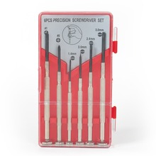 WORKPRO 6pcs Precision Screwdrivers set Mini Screwdrivers for Electronics Repair Tool Kits 31 in 1 precision screwdrivers toolkit black yellow
