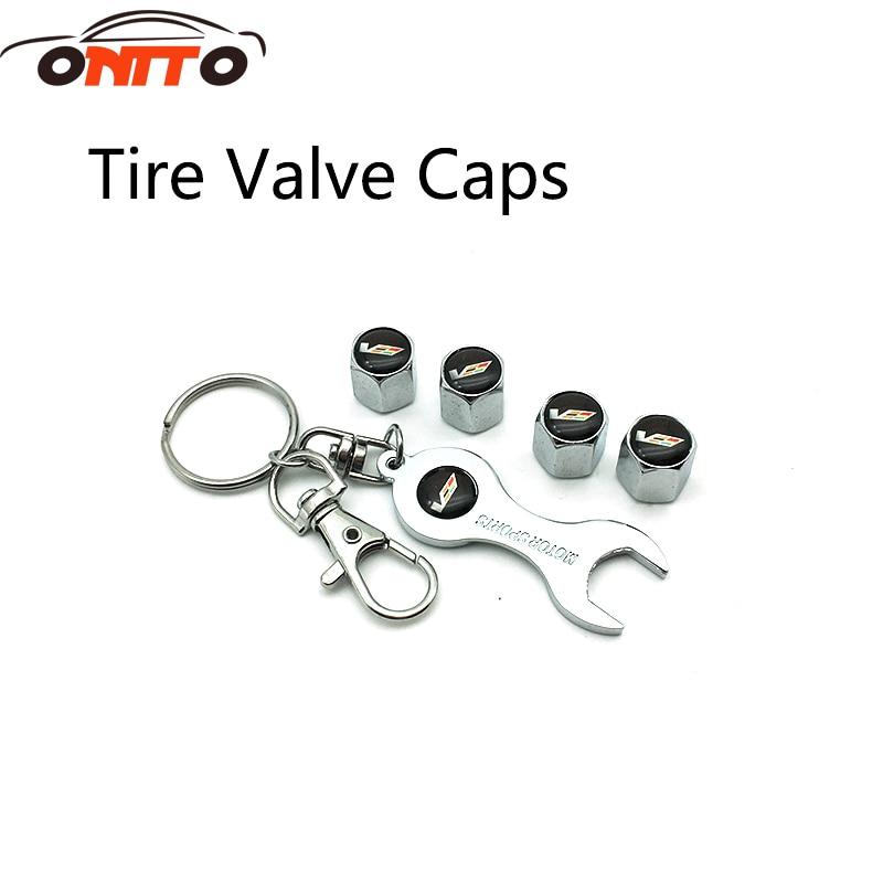 Keychain Keyrings Car Tyre decoration Wheel Tire Valve Caps Dust Cover Car modification