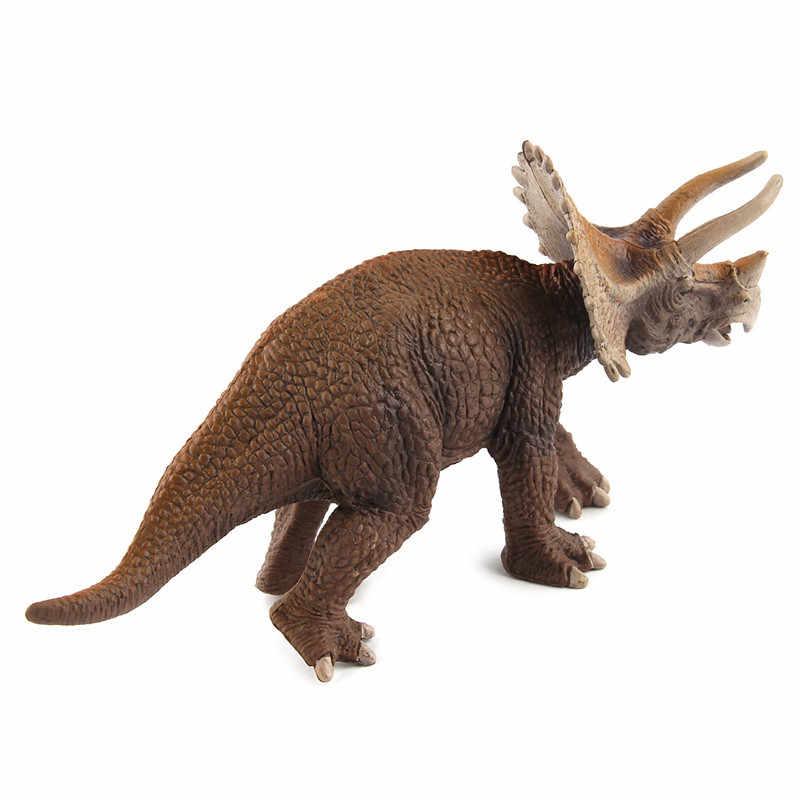 Triceratops Kỷ JuRa Thực Tế Mô Hình Khủng Long Đồ Chơi Sở Thích Hành Động Đồ Chơi Nhân Vật