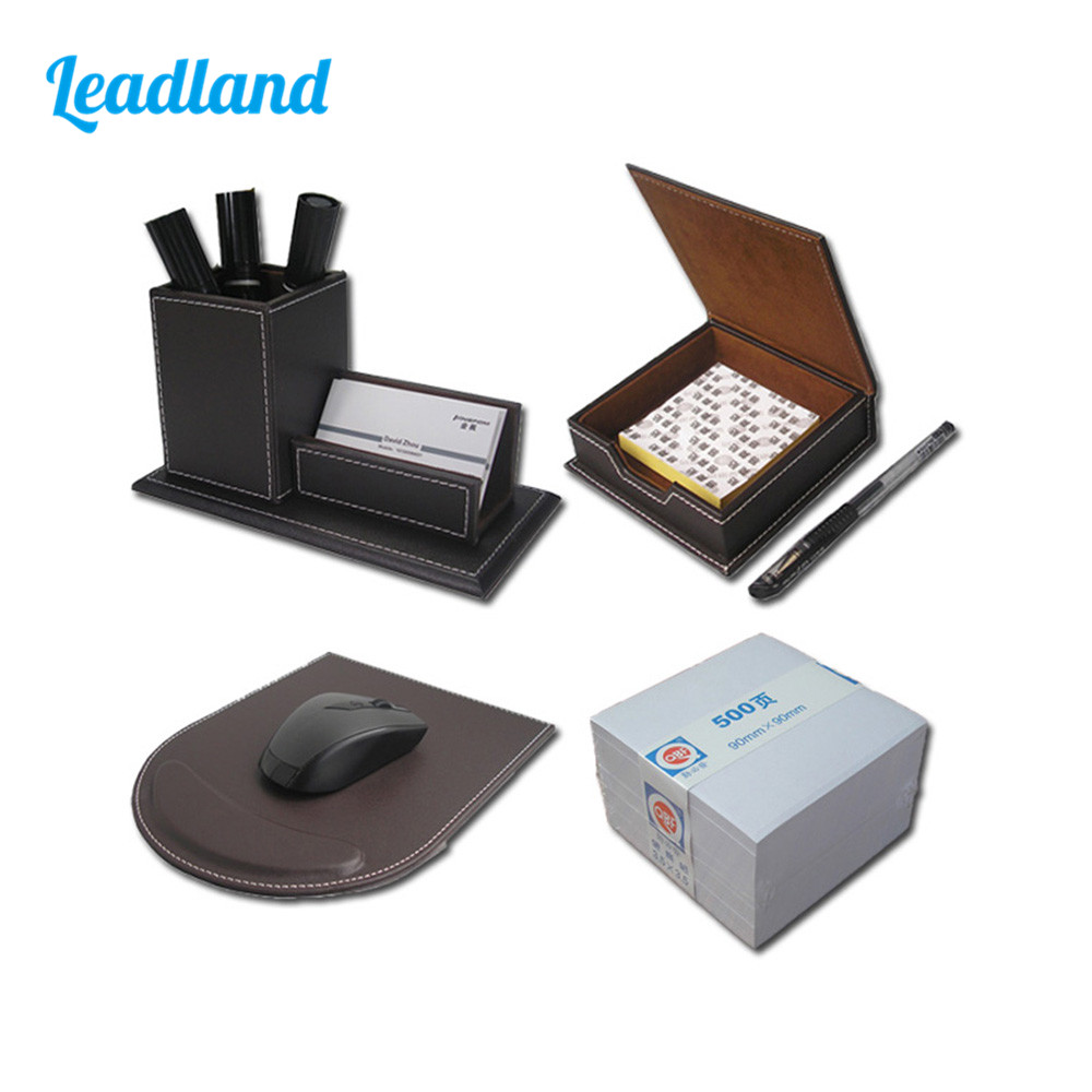 Office Desktop Organizer Set Stationery Organizer Business Card Display with Pen Holder T46 цена и фото