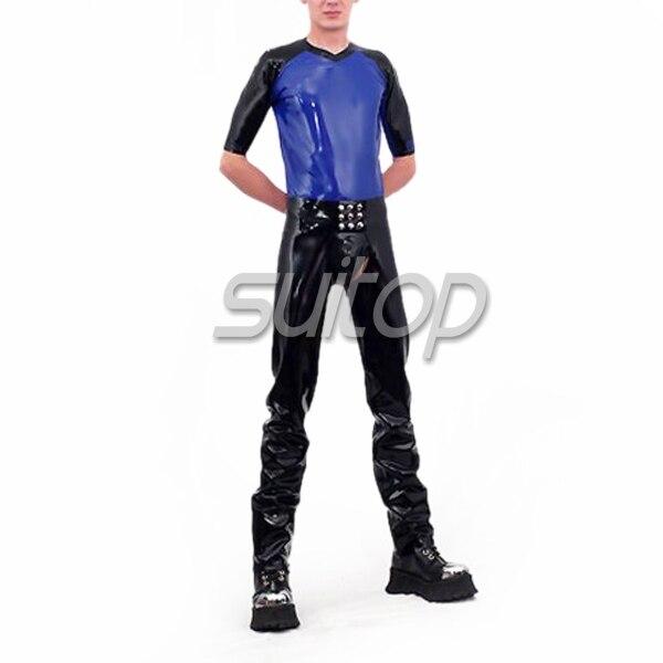Căptușeală din latex în costum, cu tricou scurt și - Îmbrăcăminte femei - Fotografie 2