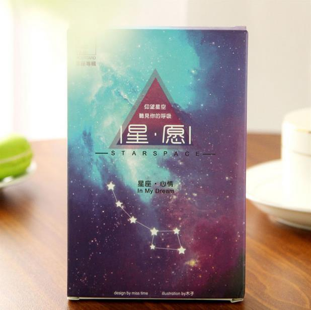 Galaxy Theme Office Postcard Set Packing Nice Greeting Cards For Party Birthday School Supplies 30pcs