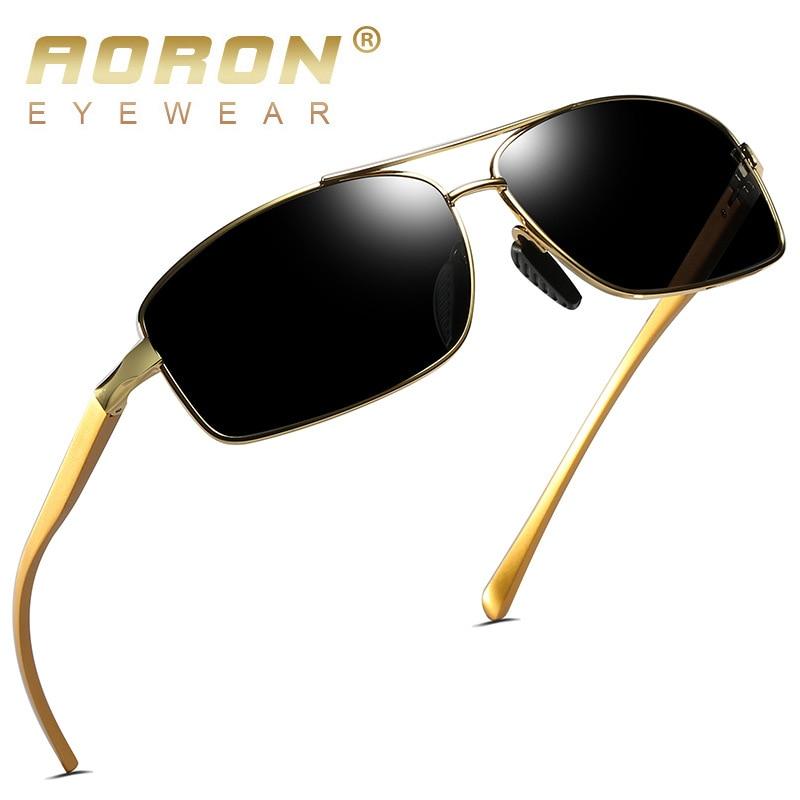 AORON Mens Kacamata Terpolarisasi Olahraga Kacamata Persegi Panjang - Aksesori pakaian - Foto 3