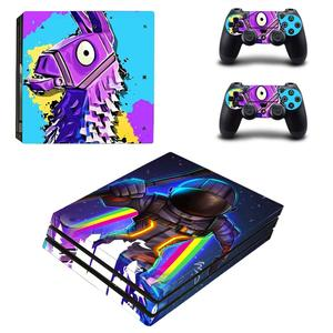 Image 3 - PS4 Pro Skin Sticker Decal Vinyl Voor Sony Playstation 4 Console En 2 Controllers PS4 Pro Skin Sticker