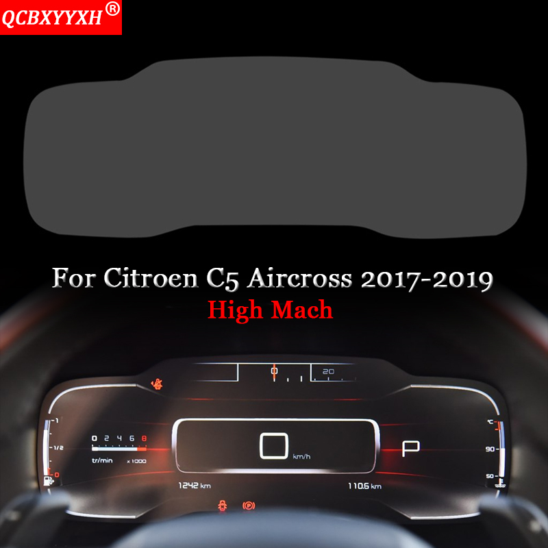Car Dashboard Paint Protective Film Sticker Light Transmitting Automobiles Accessories Auto For Citroen C5 Aircross 2017 2019|Automotive Interior Stickers| |  - title=