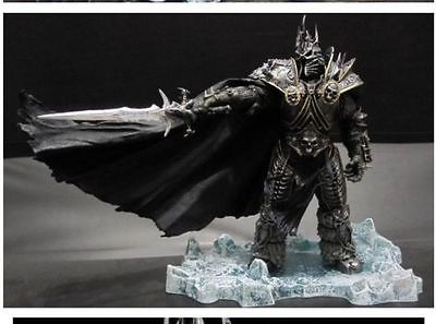 World Of WOW DC7 Deluxe Action Figure Arthas Menethil The Lich King Toy Collectibles Model Doll 221 state of wow бейсболка wow модель 2587674