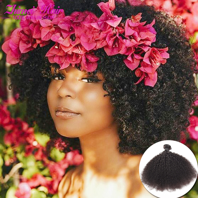 8a Grade Unprocessed Brazilian Afro Kinky Curly Hair Weavenatural