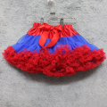 Girl tutu skirt children tutu pettiskirt rainbow tutu mother and daughter clothes royal blue and red tutu