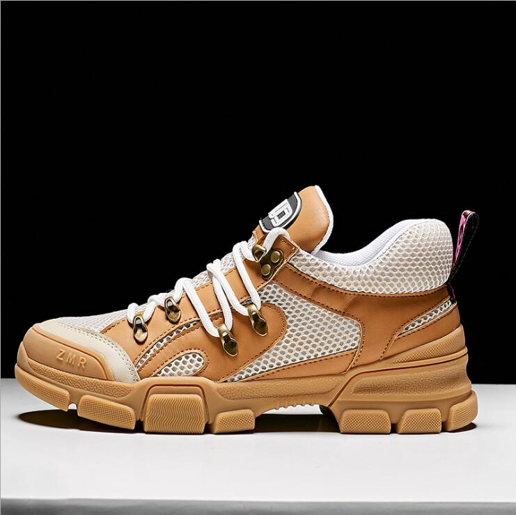 c8210dd1e3f High quality women sneakers sport shoes walking shoes 2018 autumn new mesh  mixed colors thick-