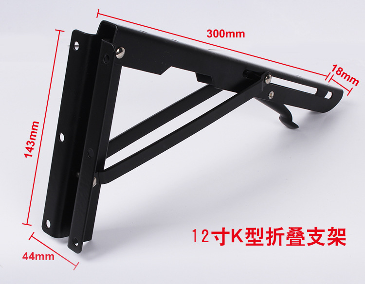 wall mount metal triangular shelf bracket decorative metal shelf support decorative metal shelf brackets 300mm x 143mm