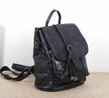 Caerlif Продажи Действительно Овчины Натуральной Кожи Рюкзак женская Мода Рюкзак Ноутбук Школьные Сумки сумка рюкзак путешествия