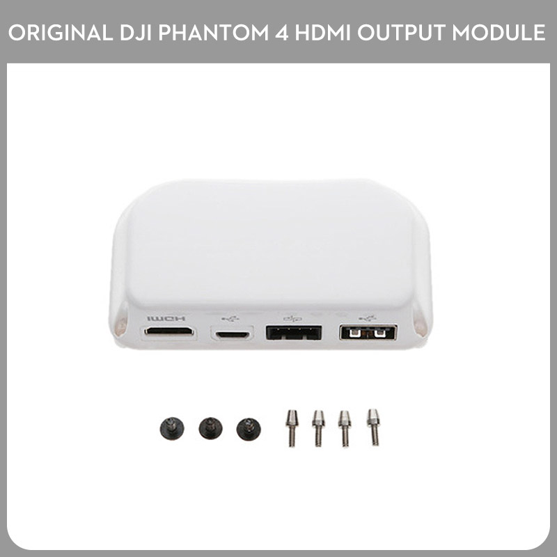 Original DJI Phantom 4 Series HDMI Output Module for Phantom 4 Pro Adv Phantom 3 Professional Advanced Accessories квадрокоптер dji phantom 4 pro