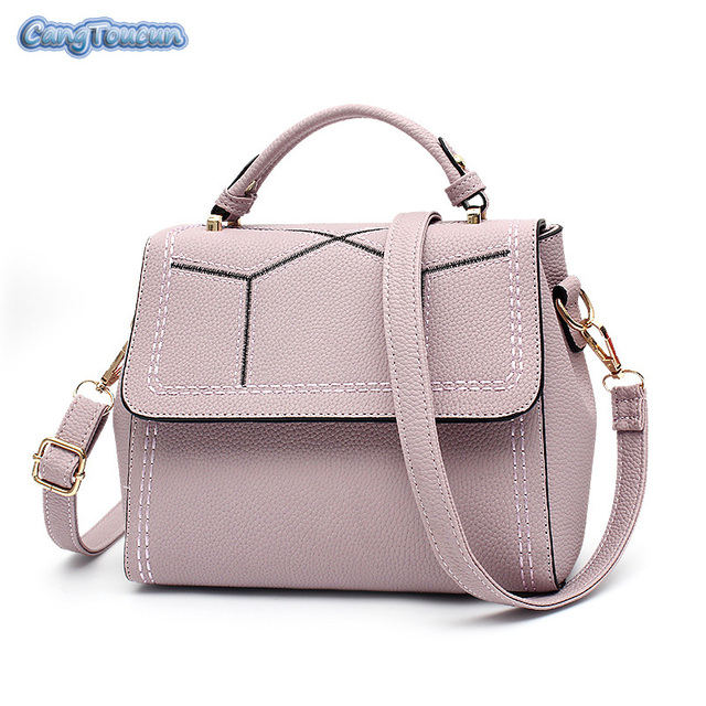2017 Fashion Large Leather Tote Bag Luxury Women Shoulder Bags ... fb9d746a56a02