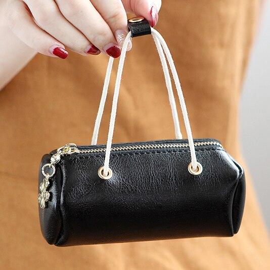 Mini Bag font b Wallets b font Lady Short Zipper Coin Purses Cards font b Keys