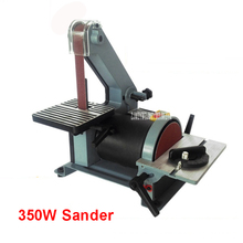 762 Belt Sander Sanding Machine Woodworking Metal Grinding/Polishing Machine Reblower Chamfering Machine 350w Copper Engine 220V