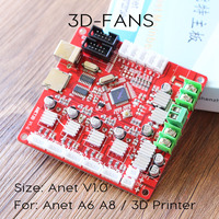 Anet A8 A6 Mainboard Control Board Mother Board DIY Self Assembly For RepRap 3D Desktop Printer